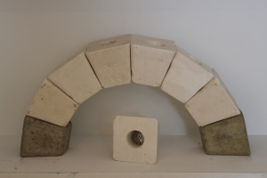 maquettes for an arch